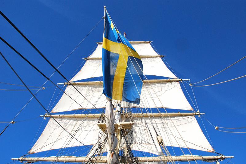 Nationaldagssegling. National day sailing June 6.