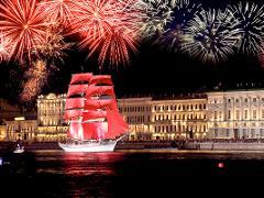 Middagskryssning med Scarlet Sails-tema från Kastellholmen till Vaxholm 12 juni