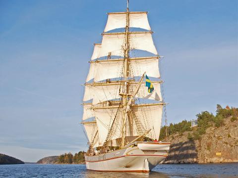 Skärgårdssegling från Stavsnäs till Vaxholm 20 augusti