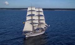 Heldagssegling  från Fårösund till Visby. Day trip under sail 9 hour. 17 juli kl 9-18