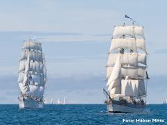 The Tall Ships´ Races. Kotka - Turku/Åbo 13-22 juli. Cruise in company