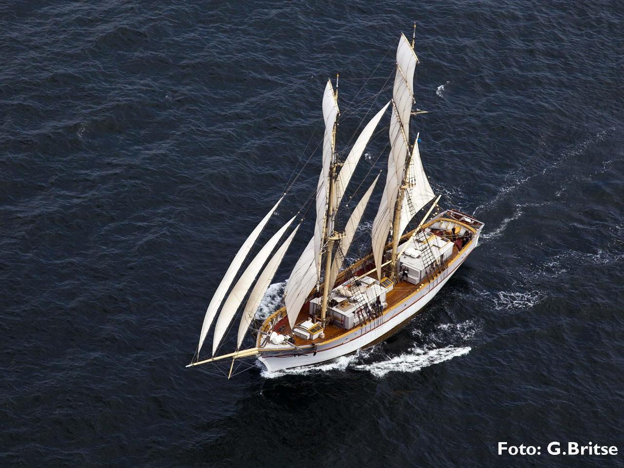 Till sjöss med Tre Kronor af Stockholm i Stavsnäs 11 och 12 september kl 12-15.30
