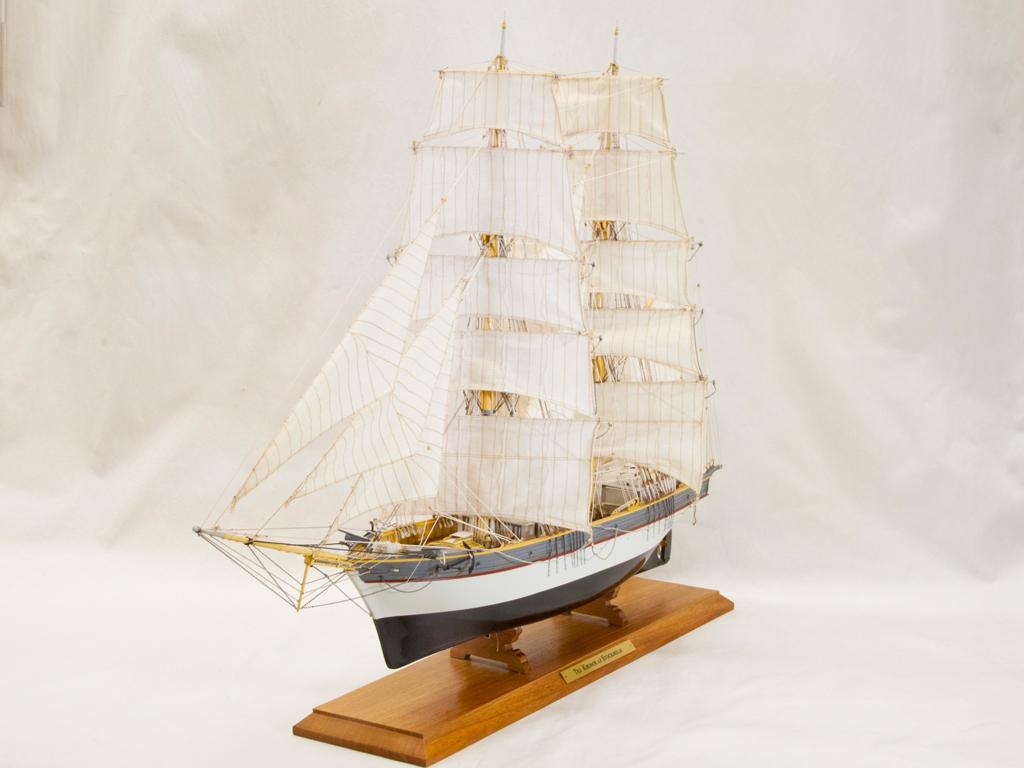 Modell av Tre Kronor af Stockholm