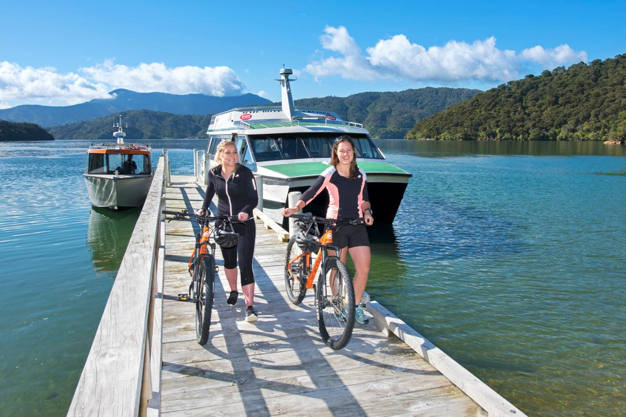 3 Day Queen Charlotte Track Mountain Bike Special