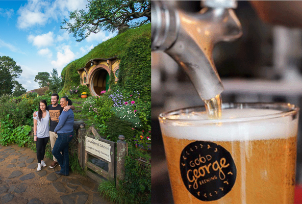 Hobbiton and Hops Journey