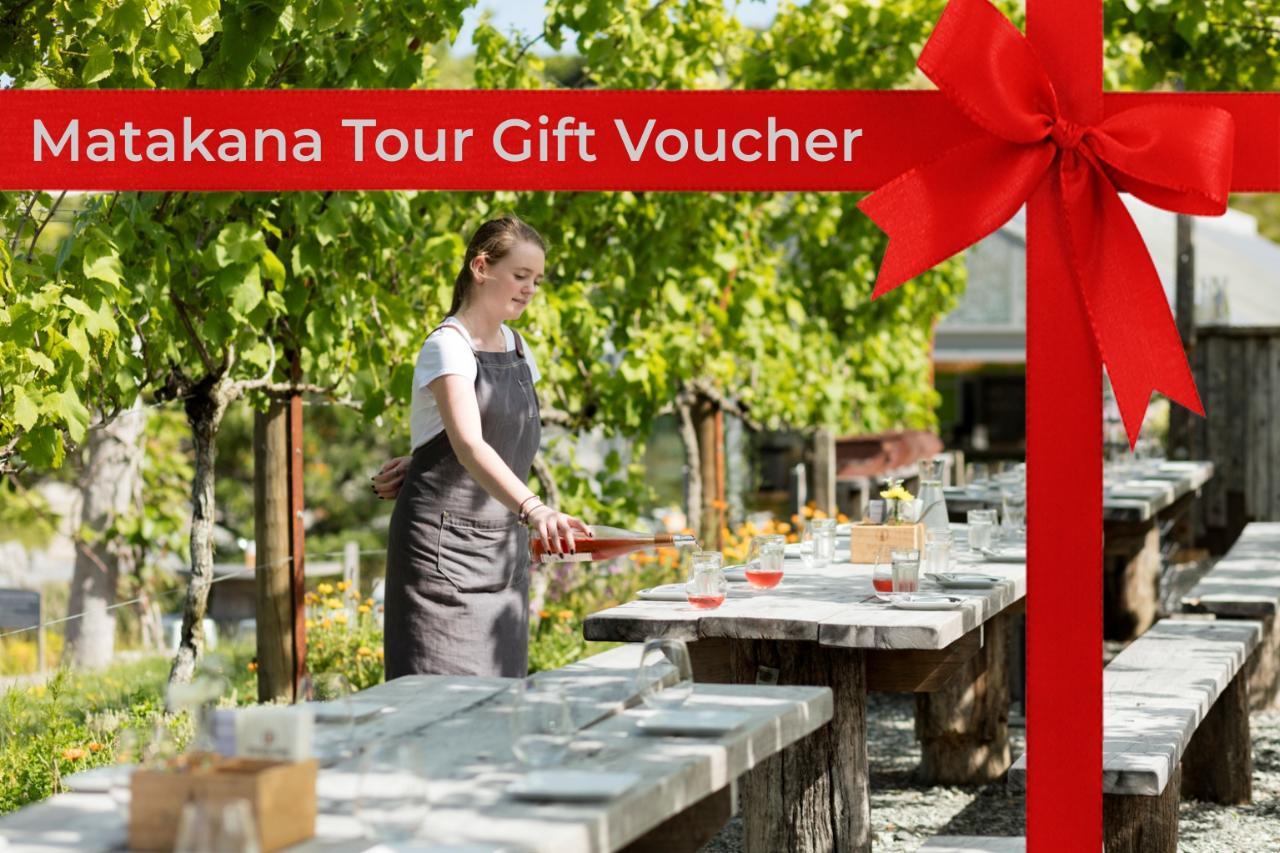 Gift Voucher for Matakana Day Trip