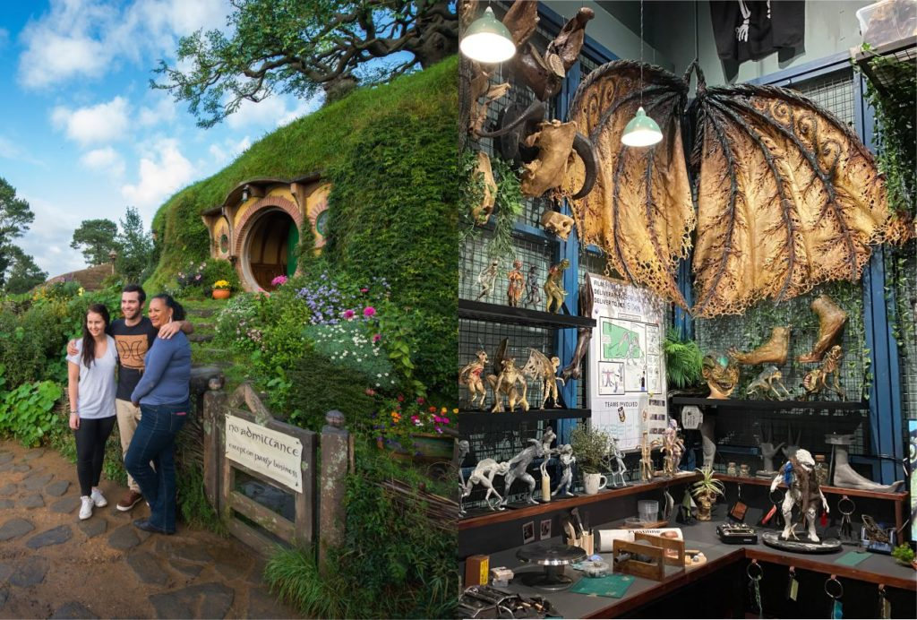 Hobbiton and Weta Workshop Unleashed Experience