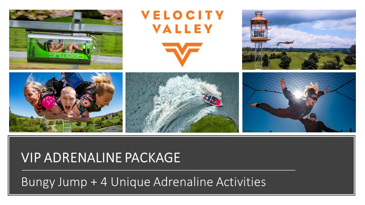 VIP Package (5 Ride Combo)
