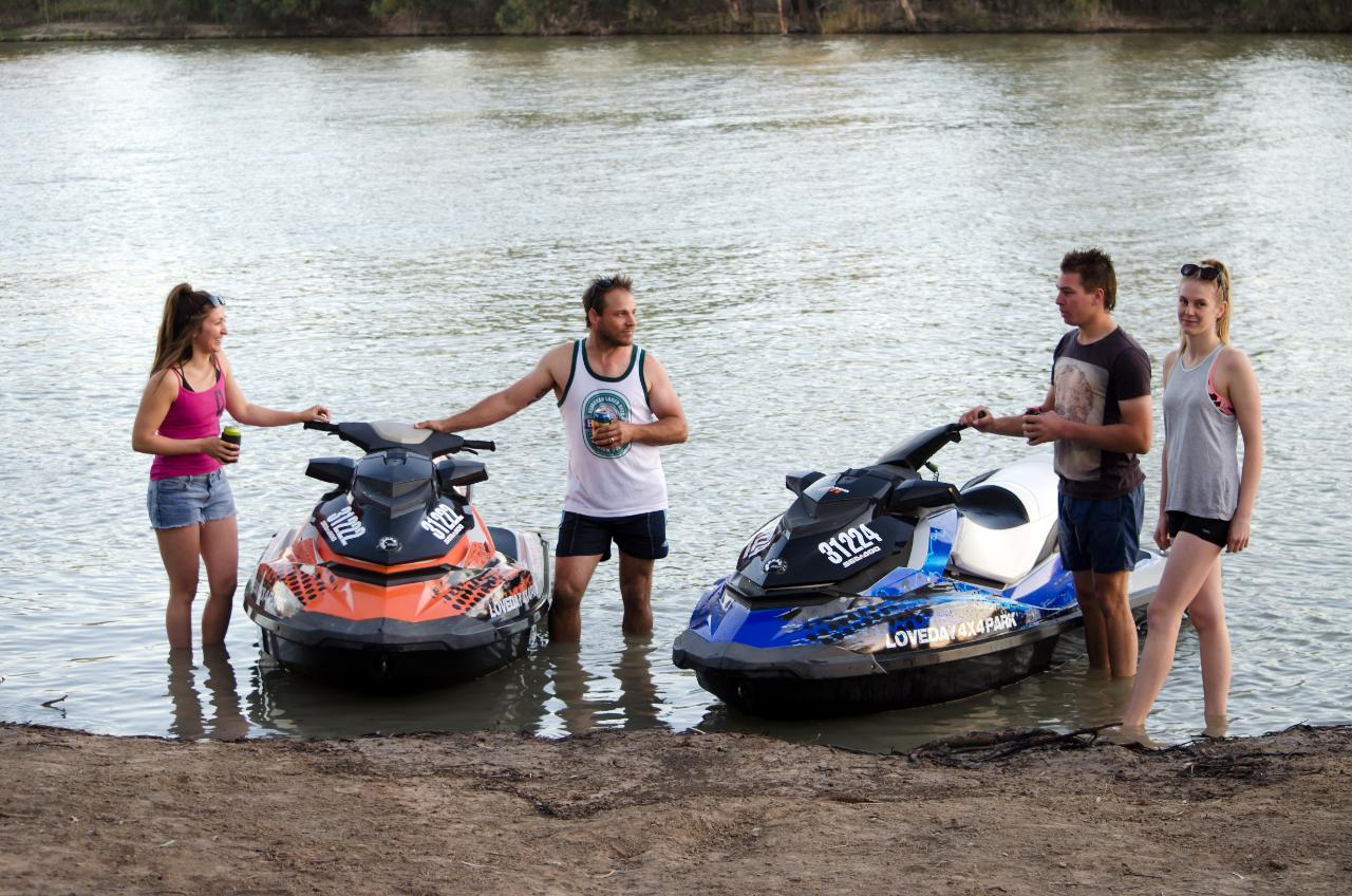 Jet Ski Hire - On Site