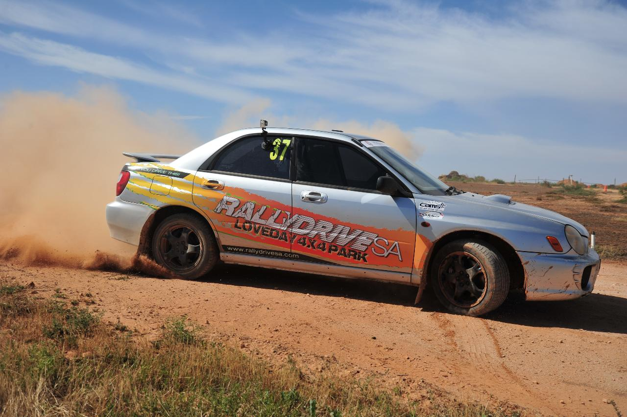 Rally Drive 8 laps + 1 hot lap of 1k track