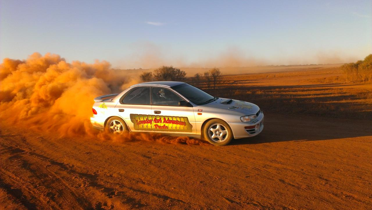 Rally Drive 12 Laps + 1 hot lap total 14 kilometers