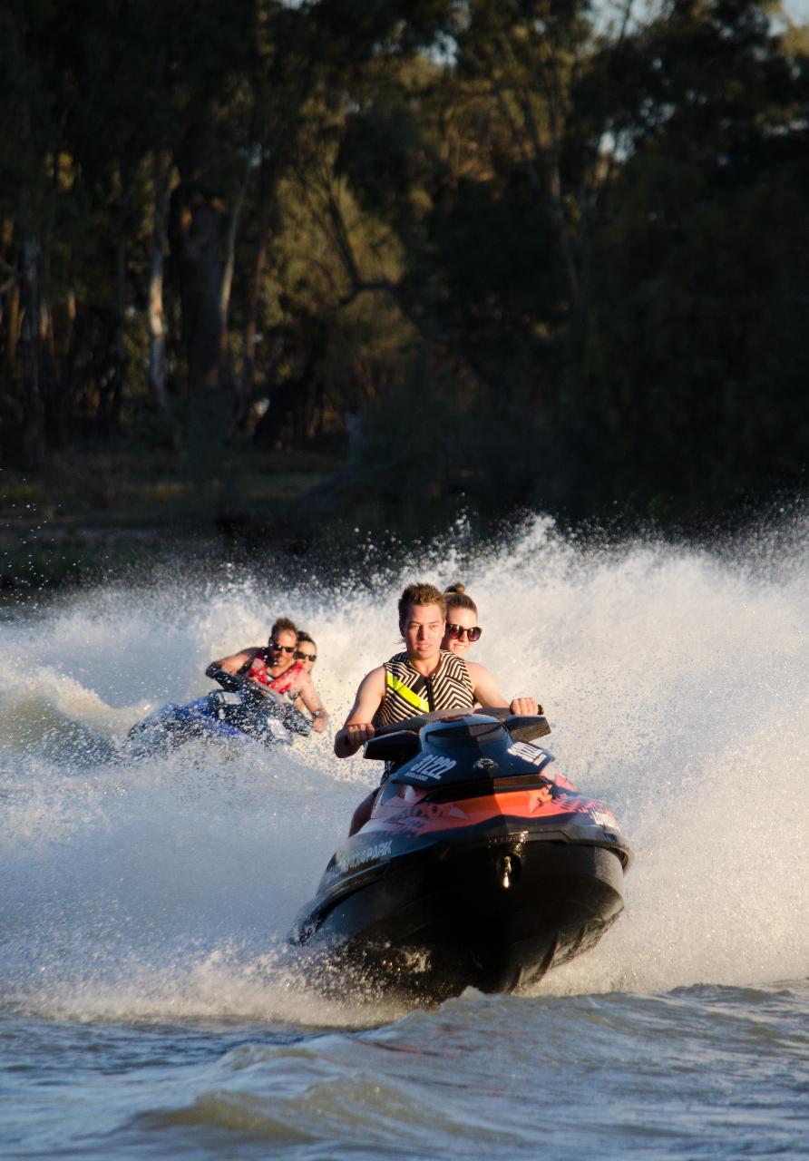 Jet Ski Tour - Loxton cruise