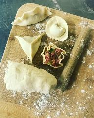 Dim Sum - Steamed and Pot Sticker dumplings with sauces (Hands On) - Wednesday, 11th July 6:30 PM