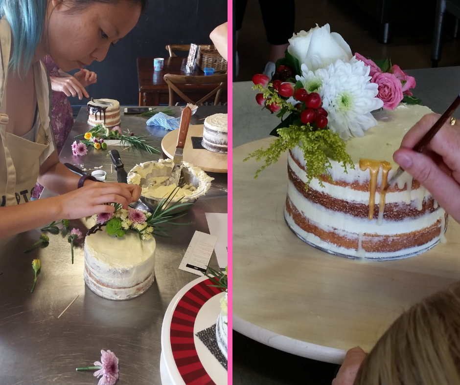 Fully Booked! Naked Cake Class with Paula from Charles and Violet (Hands On) - Saturday, 12th January 10:00 AM