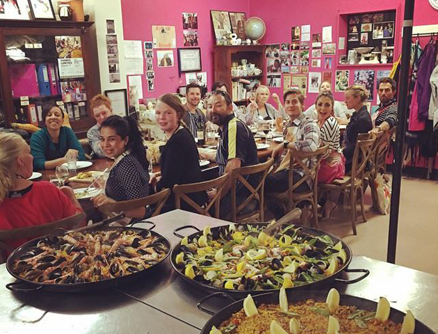 Learn to make a seafood Paella and a Meat Paella with Sophie Budd (Hands On) - Thursday 7th February 6:30PM