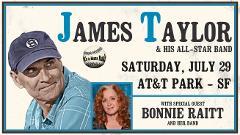 James Taylor & Bonnie Raitt - @ AT&T Park - Departing Tiburon/Sam's Anchor Cafe