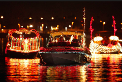 Berkeley Lighted Boat Float - 12/9