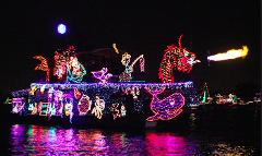 San Francisco's  Lighted Boat Float 2017