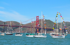 Earth Day and Opening Day on the Bay Loop Cruise April 22
