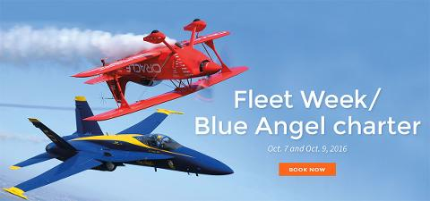 Tideline - Fleet Week/Blue Angel Charter