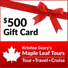 Maple Leaf Tours $500 Gift Card