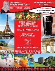 6:00 Pm Presentation for Ireland, Paris, Hawaii