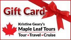 Maple Leaf Tours $498.00 Gift Card