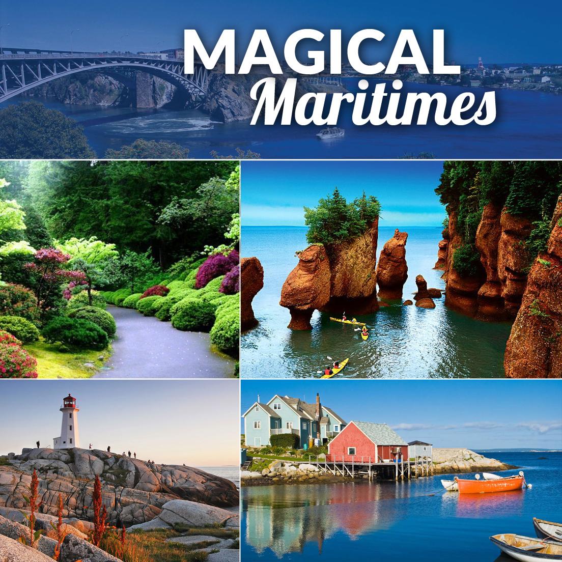 Nova Scotia and New Brunswick