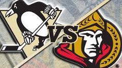Ottawa Senators vs Pittsburg Penguins