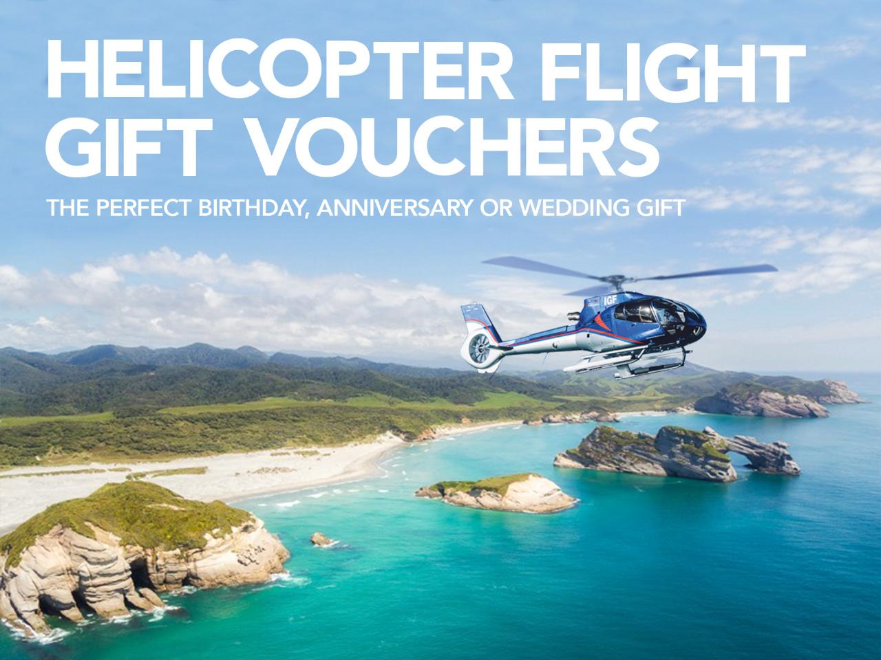 Nelson Helicopter Gift Voucher