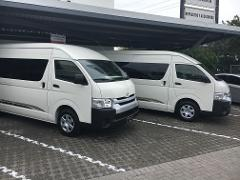 Transfer San Jose to Jaco Beach Hotels 2 - 3  Passengers