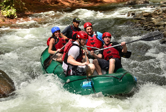 White Water Rafting at Tenorio River
