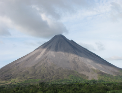 Arenal Volcano and Hot Springs from Jaco