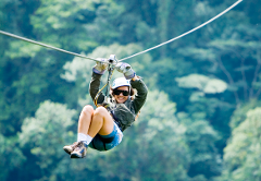 Arenal Zipline Adventure at Arenal Volcano