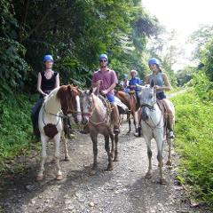 Horseback Riding from Manuel Antonio