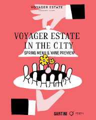 Voyager Estate in the City - FLORIS Spring Discovery Menu & Wine Release