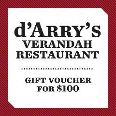 $100 d'Arry's Verandah Voucher