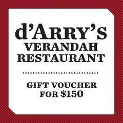 $150 d'Arry's Verandah Voucher