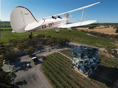 Scenic Flight, Wine Making and Degustation with Wine Pairing - Gift Voucher