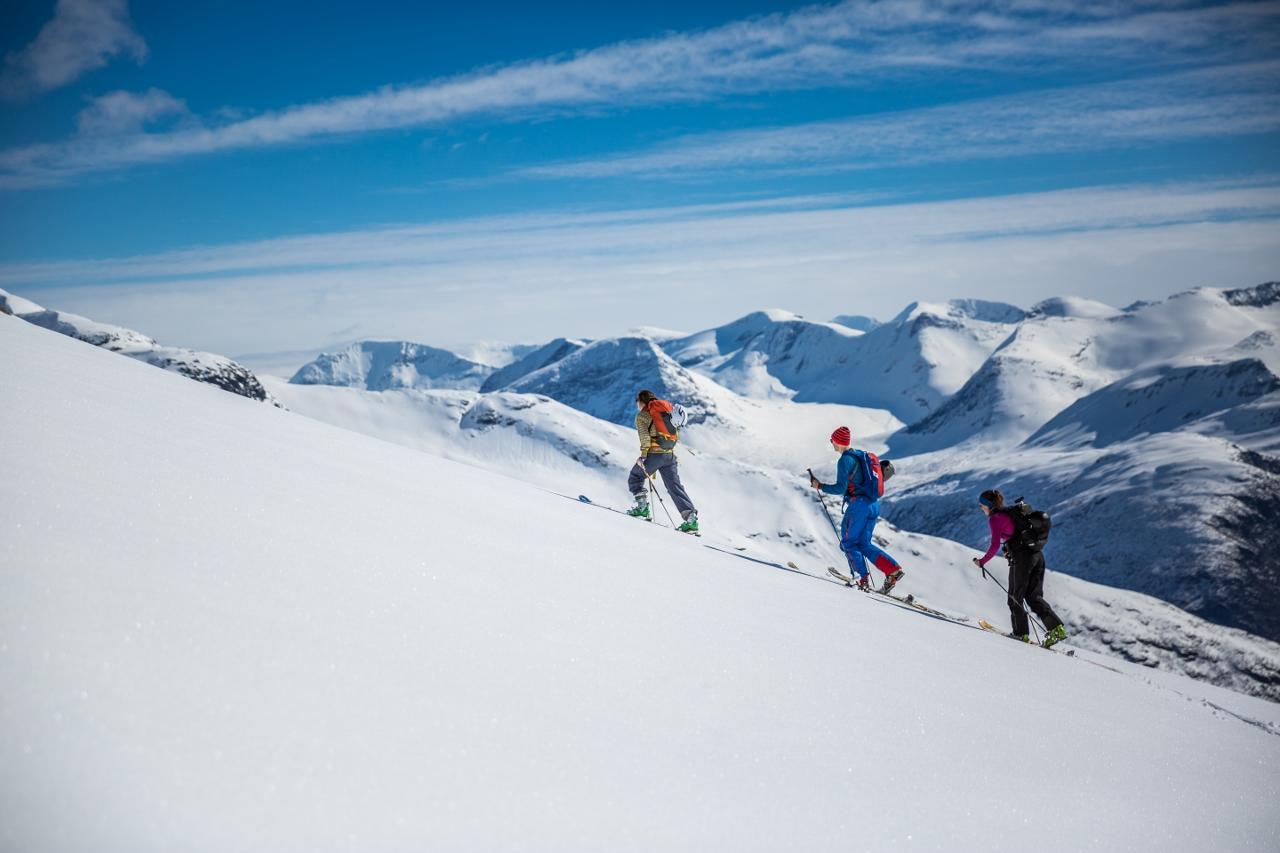 Skredkurs (Avalanche course)