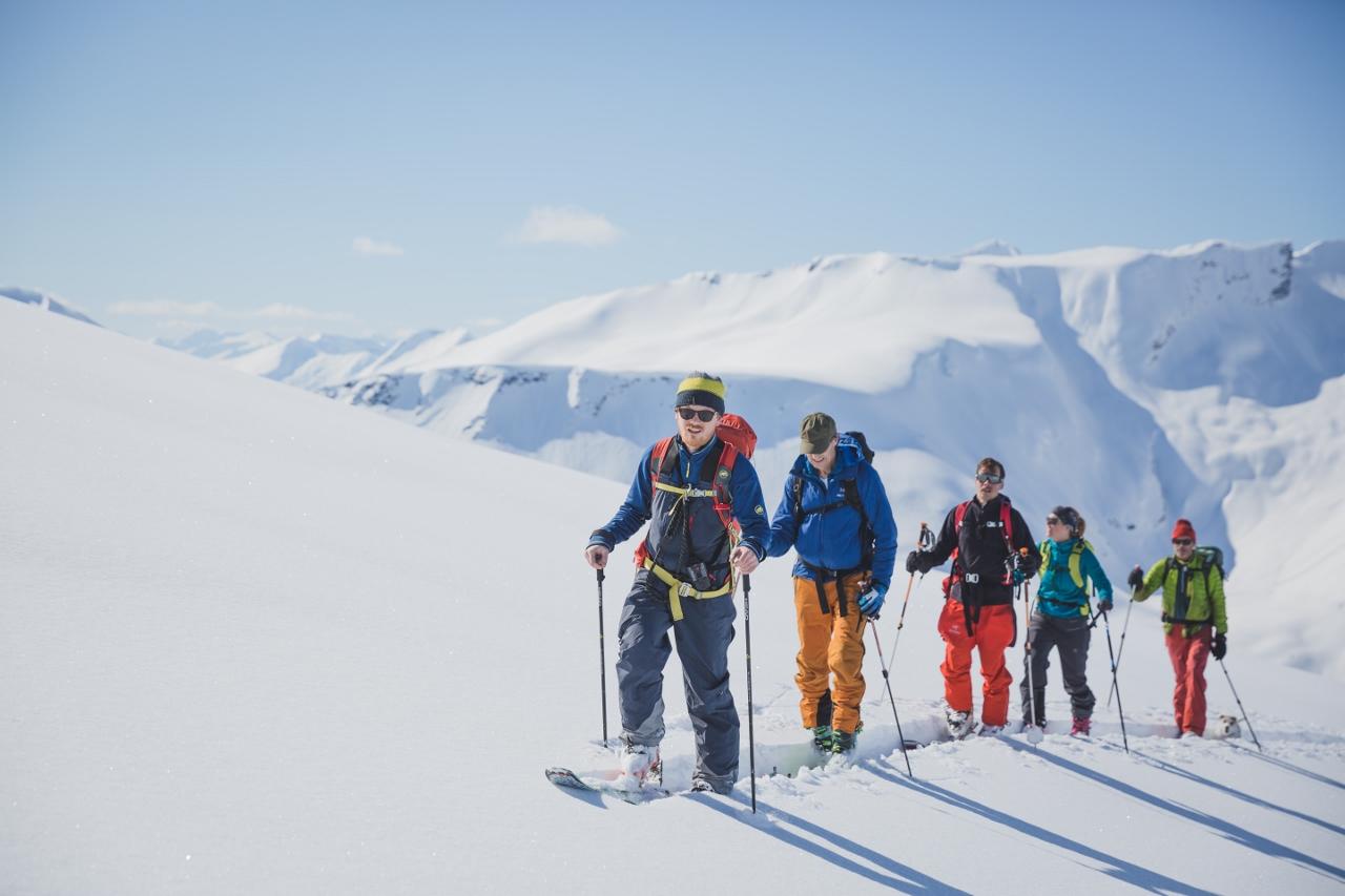 Toppturkurs (Ski touring course)