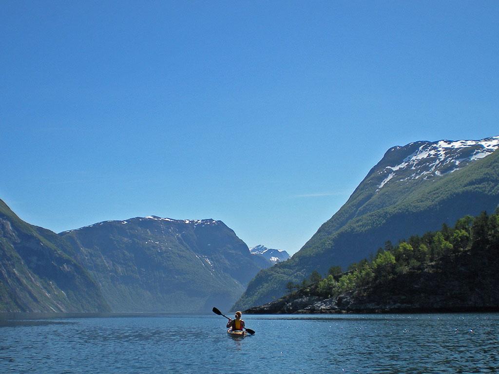 GAMMELT PRODUKT Utleie Havkajakk enkel (Rental Sea kayak single)
