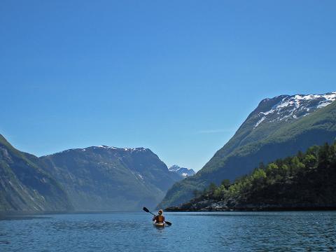 Utleie Havkajakk enkel (Rental Sea kayak single)