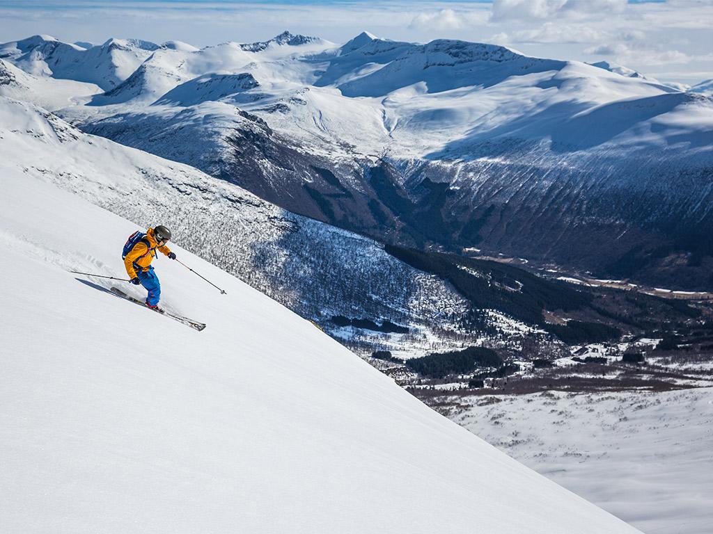 Topptur halv dag (Ski touring – half day)