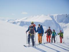 Topptur lang (Ski touring – day trip)