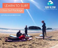 Pass - 5 Surf lessons