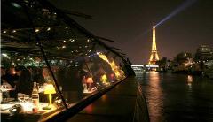 Dinner-dance Cruise - Bateaux Parisiens - Pickup & Drop off Hotel