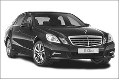 A private chauffeur placed at your disposal – Berline Class E – From 1 to 3 people