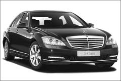 A private chauffeur placed at your disposal – Limousine Class S – From 1 to 3 people