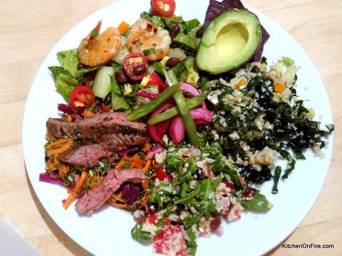 CANCELLED LE Fulfilling Summer Salads: Sun, June 25; 5-8pm; Chef Olive and Nutrition Consultant Lisa Miller (Shattuck Ave)